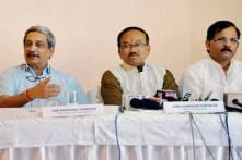 Tainted Congressman's Entry Causes Rift Between Parrikar, Shripad Naik