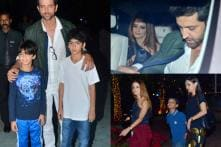 Hrithik Roshan, Sussanne Khan Come Together For Kids Hrehaan and Hridhaan