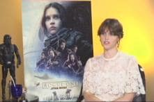 Rajeev Masand in Conversation With Rogue One: A Star Wars Story Actor Felicity Jones