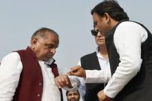 Akhilesh, Mulayam Come Together After 11 Months to Mark Death Anniversary of Lohia