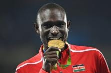 Olympic 800m Champ Rudisha Named Event Ambassador of Mumbai Marathon