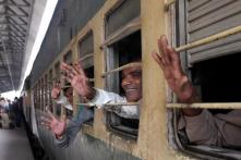 Indian Fishermen Released From Pakistan Jail Arrive in India