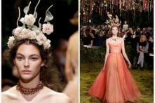 Christian Dior's Paris Fashion Week Show Looked Like a Gateway to an Enchanted Forest