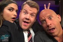 After Vin Diesel, Deepika Padukone Makes James Corden Do 'Lungi Dance', Watch Videos