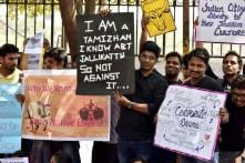 Riding on Ordinance, Jallikattu Makes Bloody return; Protesters Stand Ground