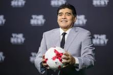 Diego Maradona Named Coach of Mexican Club Dorados