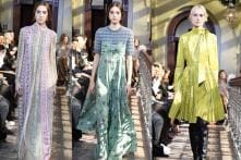 Valentino's Pre-fall 2017 Collection Showers The Runway With Optimism