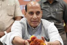 Rajnath Singh Accuses Akhilesh Yadav of Shattering His Father's Dreams
