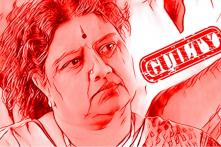 'Chinnamma' Sasikala Convicted in DA Case, Sentenced to 4 Years in Jail