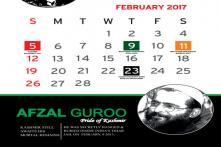 Now, a Calendar Highlighting 'Achievements' of Burhan, Afzal in J-K