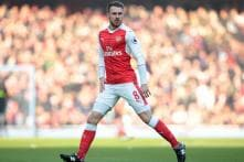 Aaron Ramsey to See Out Season at Arsenal After Talks Fail