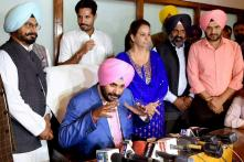 'She is my Better Half,' Sidhu's Reply on Taking Wife to Official Meets
