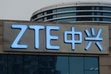ZTE Says Asked US Commerce Department to Suspend Business Ban