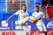 Real Madrid Thrash Eibar 4-1 Without Gareth Bale and Cristiano Ronaldo