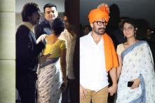Shah Rukh Khan, Phogat Family Attend Aamir Khan's Birthday Bash