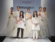 AIFW 2017: Of a Model's Grace to Let the Show Go On Despite Stumbling, Minor Wardrobe Malfunction