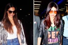 Priyanka Chopra and Deepika Padukone are Slaying it in Their Airport Outfits; See Pics
