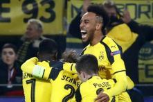 Champions League: Aubameyang Hat-trick Fires Dortmund Into Quarters