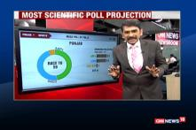 CNN-News18-Gramener Projection: AAP Will Be The Single-Largest Party In Punjab