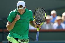 Sock Stuns Zverev to Prolong London Adventure, Federer Rolls On