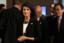 US Envoy to UN Nikki Haley Says 'We Need to Get Iran' Out of Syria