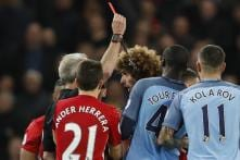 Manchester Derby: Fellaini Sees Red as United Hold City to a 0-0 Draw