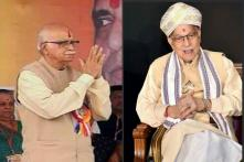 Post SC Verdict on Ayodhya, MM Joshi Meets LK Advani