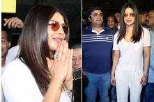 Priyanka Chopra Lands In India, Gets a Warm Welcome by Fans
