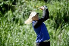 Suzann Pettersen on Top at Weather-hit ANA Inspiration