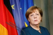 German Chancellor Angela Merkel Says She is 'Very Well' Despite Third Shaking Spell
