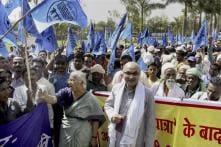 Medha Patkar Leads Sardar Sarovar Dam Displaced to Bhopal, Holds Protest