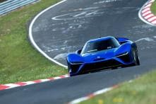 NIO EP9 Sets New Lap Record at Nurburgring Nordschleife
