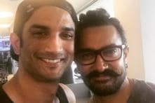 Did Sushant Just Reveal Aamir's Look From Thugs Of Hindostan?