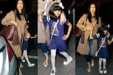Aishwarya Rai Bachchan Leaves For Cannes 2017 With Daughter Aaradhya