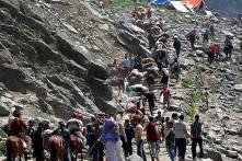 Amarnath Yatra Suspended From Jammu Due to Protests in Support of Article 35A