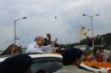 In Tripura, Shah Says CM Sarkar Must Seek CBI Probe into Chit Fund Scam