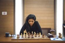 Harika Plays Out Second Draw With Kosteniuk, Heads to Tie-breaker