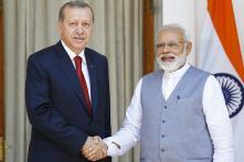 PM Modi, Turkey President Erdogan Review Ties in Security, Trade Areas