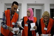 West Bank Votes in Polls Underlining Palestinian Split