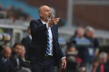 Inter Milan Sack Coach Stefano Pioli and Coaching Staff