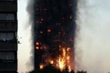 Fire Engulfs Grenfell Tower in West London