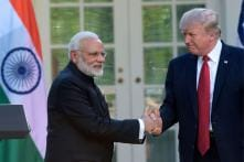 Narendra Modi meets Donald Trump at the White House