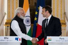 PM Modi, French President Macron Discuss Ways to Deepen Strategic Partnership
