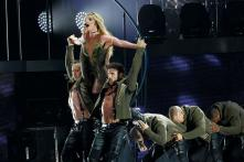I've Been Keeping My Body Strong: Britney Spears