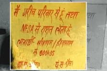 NHRC Notice to Rajasthan Govt Over 'Graffiti' Found on BPL Houses