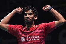 Shuttler Srikanth Climbs to 3rd Spot in World Rankings