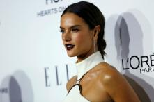 Alessandra Ambrosio Goes Topless For A Jewellery Campaign