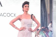 Shilpa Shetty Kundra is Elegance Personified in this Falguni-Shane Peacock Saree Gown; See Pics