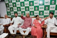 Delhi Court Grants Bail to Lalu, Wife and Son in IRCTC Scam