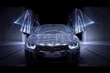 BMW i8 Roadster Official Teaser Out, to Be Launched in 2018